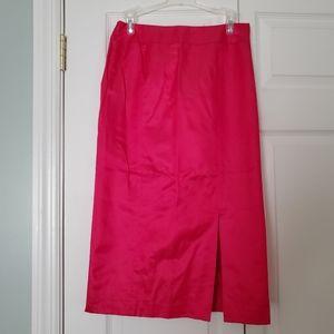 Talbot hot pink skirt